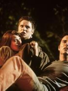 "Final Destination - Auf dem Weg zum ""final destination"": Alex (Devon Sawa, M.), Clear (Ali Larter, l.) und Carter (Kerr Smith, r.) ... © New Line Cinema"